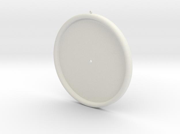 clock - Part1-1 in White Natural Versatile Plastic