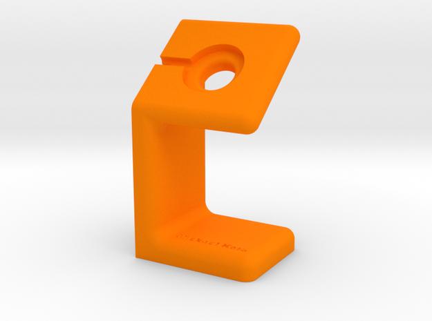 Watch Stand Charging Mickael Kors in Orange Processed Versatile Plastic