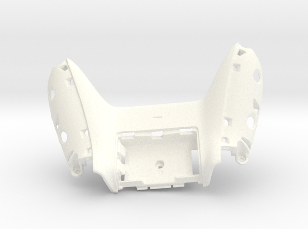 Xbox One Backplate in White Processed Versatile Plastic