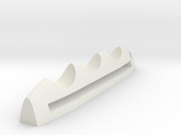 Mobile pen holder in White Natural Versatile Plastic