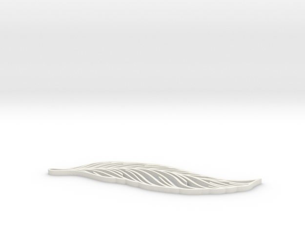 Feather_ultimate in White Natural Versatile Plastic: Extra Small