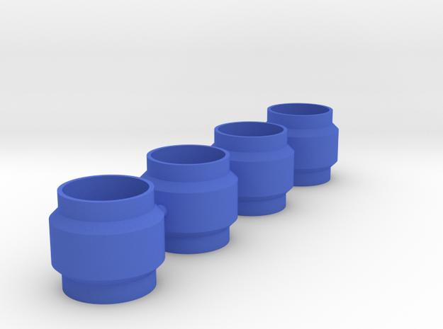 King Shocks Separator 6mm in Blue Processed Versatile Plastic
