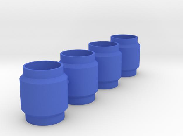 King Shocks Separator 10mm in Blue Processed Versatile Plastic