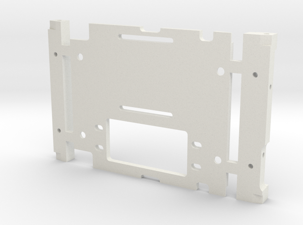 JaBird ;^) RC 10.2 CMS Plate in White Strong & Flexible