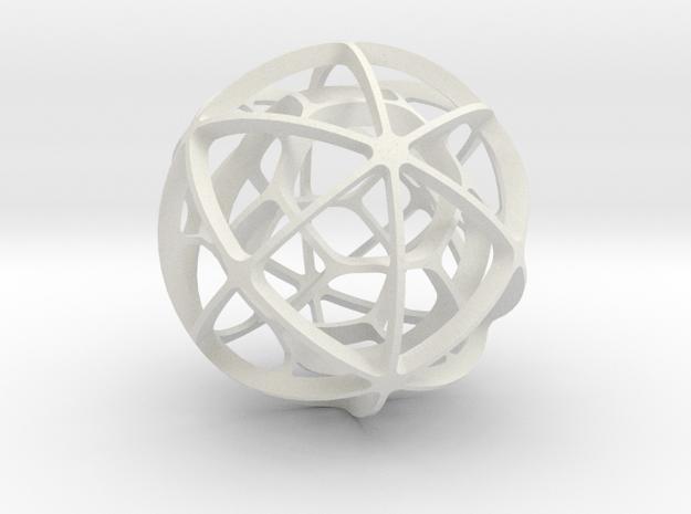 DUAL PAIR No. 4 in White Natural Versatile Plastic