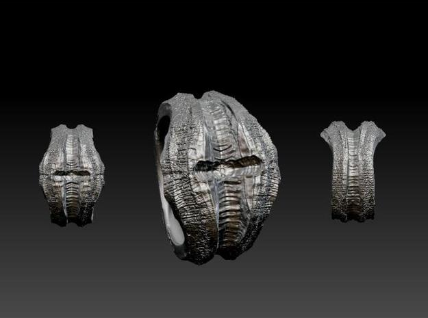 Dragon Hunter's Ring (Pick your size!) 3d printed zbrush image