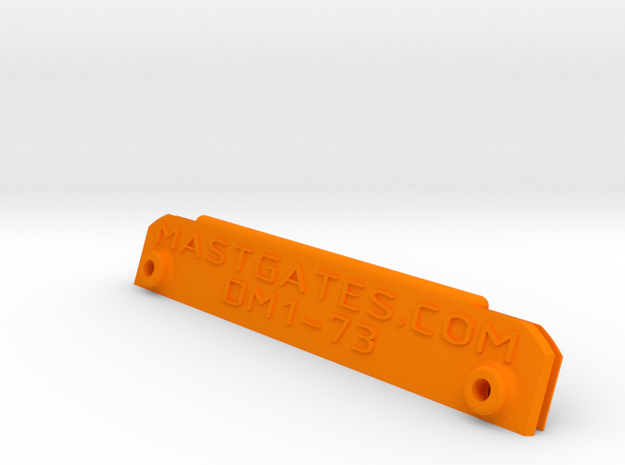 "Potter 15, 2 7/8"" (Dwyer DM1) ver.10 in Orange Processed Versatile Plastic"