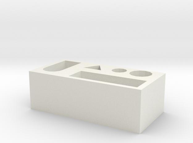 104105218 in White Natural Versatile Plastic
