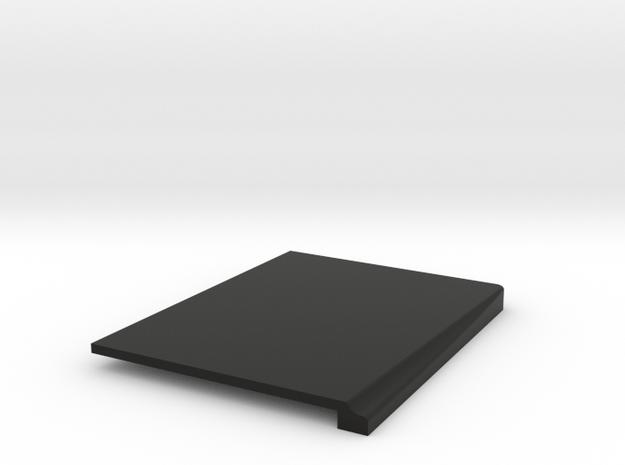 JK Right Seat Adapter - Flat in Black Natural Versatile Plastic