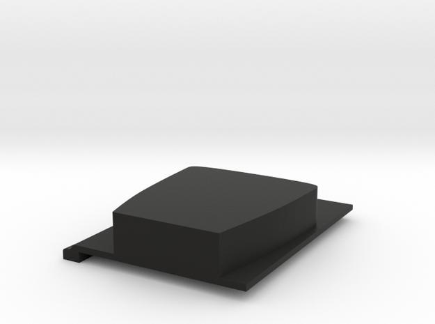 JK Left Seat Adapter - Wraith in Black Natural Versatile Plastic