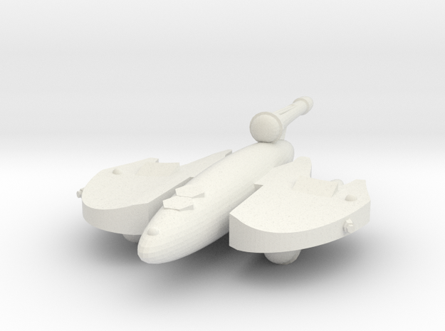 3125 Scale Drex Patroller MGL in White Natural Versatile Plastic