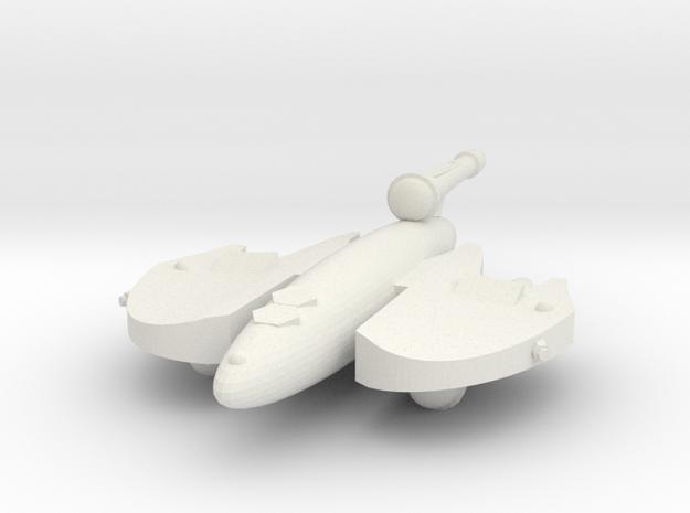 3125 Scale Drex Patroller MGL in White Natural Versatile Plastic