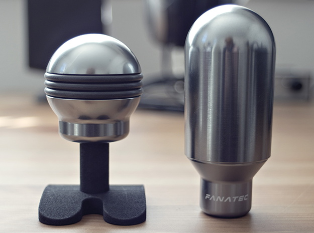 Shift Knob Stand v1.0 in Black Strong & Flexible