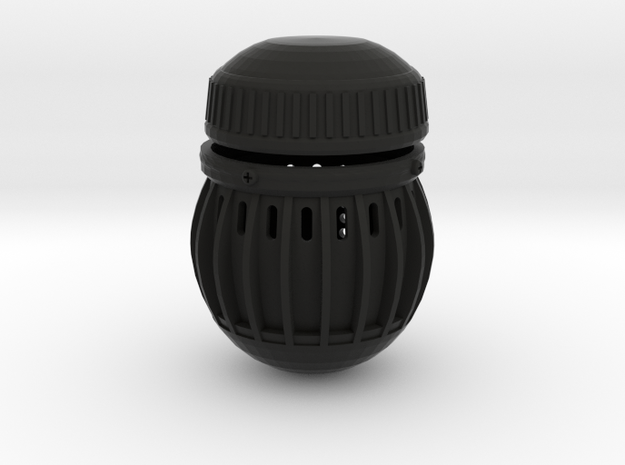 Thatcher EMP Grenade V2.0 in Black Natural Versatile Plastic