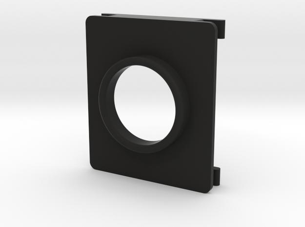 MI-6 Case Front Button Bezel in Black Strong & Flexible