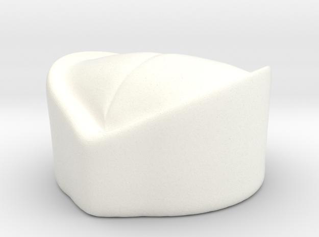 Serbian Sakjaca in White Processed Versatile Plastic