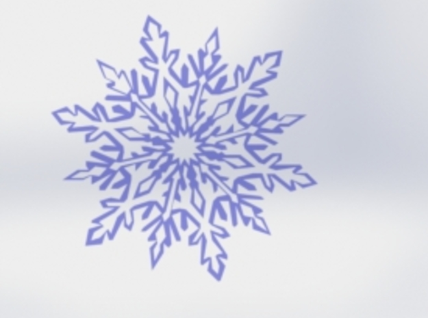 Snow_flake in White Strong & Flexible