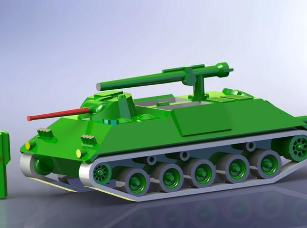 Schützenpanzer HS-30 APC 1/285 6mm 3d printed Red Barrel not included
