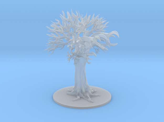 Tree Spider in Smooth Fine Detail Plastic