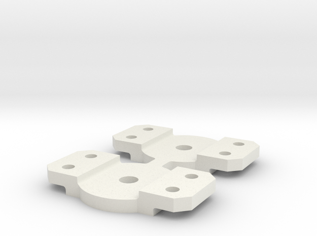 Walthers bolster in White Natural Versatile Plastic