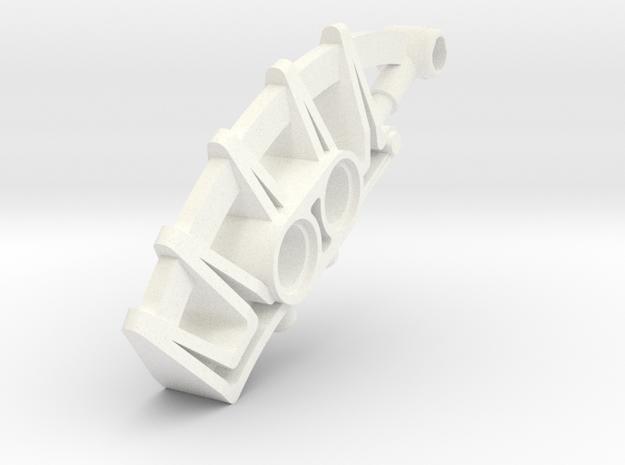 Ohlek Mask Extension in White Processed Versatile Plastic