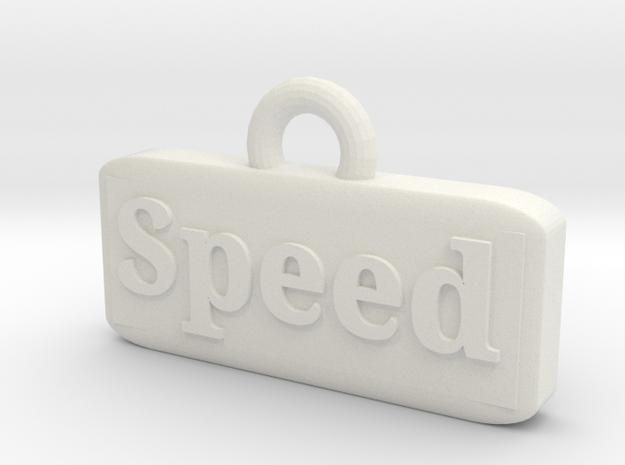 Charm in White Natural Versatile Plastic