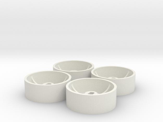 ass 4 jantes AV D20  GLA in White Natural Versatile Plastic