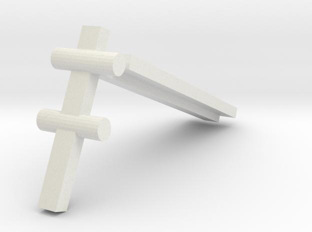 Brave Krunk-Wluff in White Natural Versatile Plastic