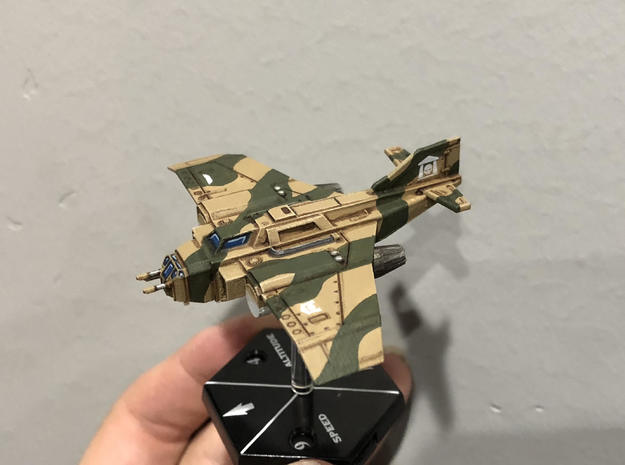 6mm Typhoon Fighter-Bomber Mk1 in Smooth Fine Detail Plastic
