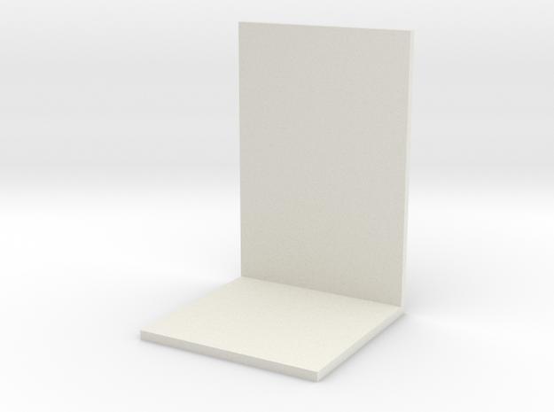 bookshelf in White Natural Versatile Plastic