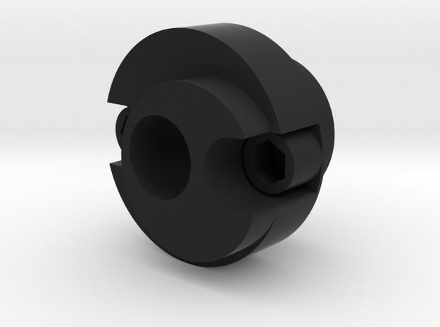 BlastFX - Blaster Muzzle for Acrylic Tube in Black Natural Versatile Plastic