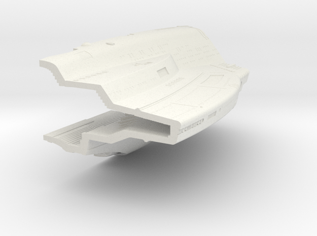 1400 Aventine Hull 2A in White Natural Versatile Plastic