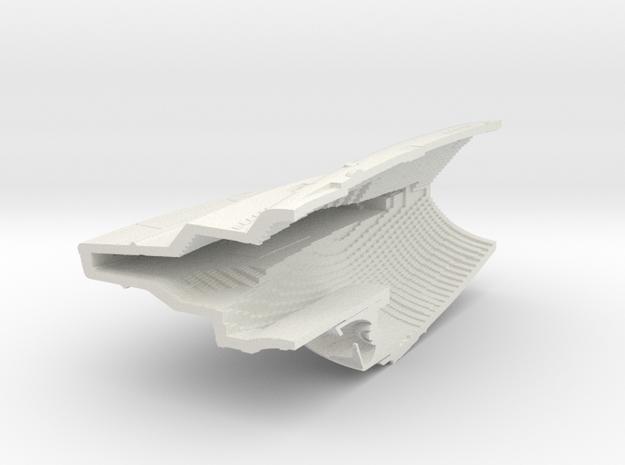 1400 Aventine Hull 2B in White Natural Versatile Plastic