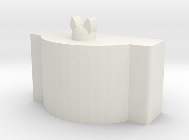 tissue paper holder 2 in White Natural Versatile Plastic