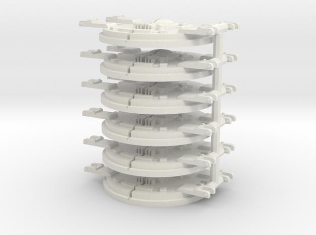 Order of the Argent Halo Rhinoceros mk.1 Door in White Natural Versatile Plastic: Medium