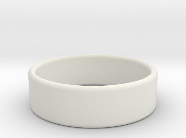 Ring ring in White Natural Versatile Plastic