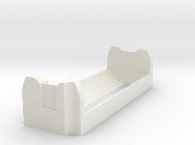 Alpinetech A+ single 26650 in White Strong & Flexible