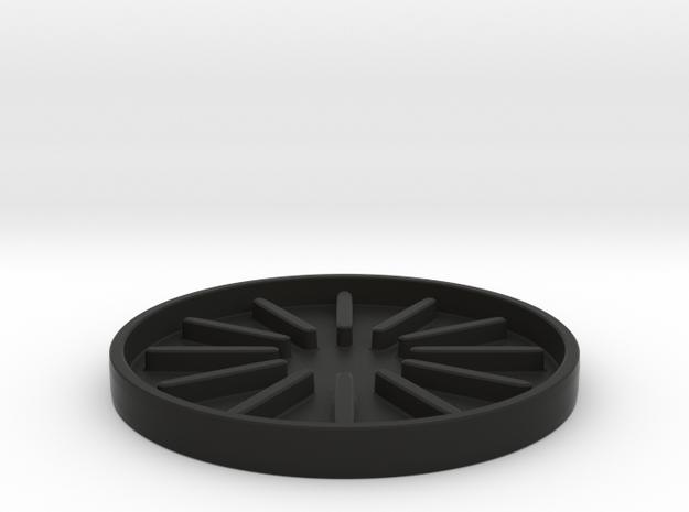 Kitchen Utensil Rest / Kitchen Accessories in Black Natural Versatile Plastic