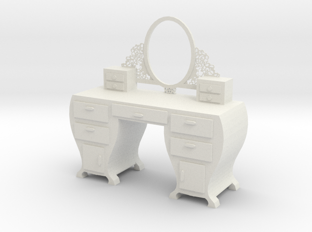 make up table in White Natural Versatile Plastic