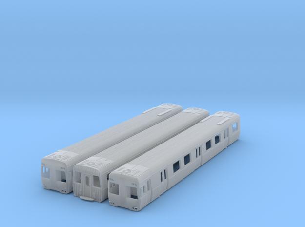 NCS1 - Alstom Comeng 3 Car Set in Smooth Fine Detail Plastic