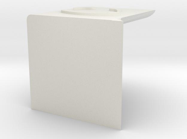 bookshelf 2 in White Natural Versatile Plastic