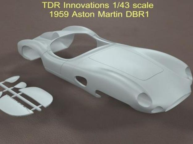 1/43 Aston Martin DBR1 in Smooth Fine Detail Plastic