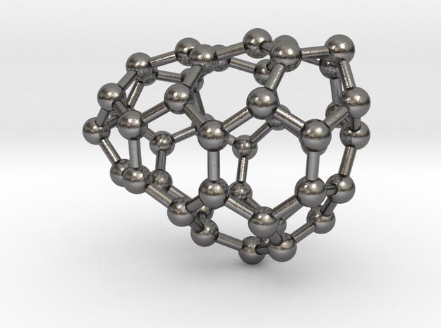 0637 Fullerene c44-9 c1 in Polished Nickel Steel