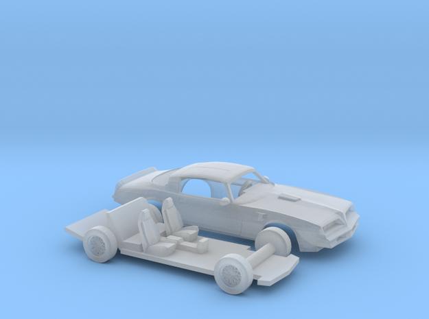 1/220 1977 Pontiac Firebird Trans Am Kit in Smooth Fine Detail Plastic