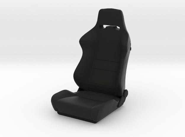 Sport Seat C-Type - 1/10 in Black Natural Versatile Plastic