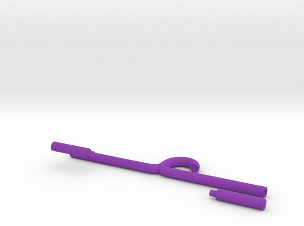 Drying rack (adjustable) in Purple Processed Versatile Plastic