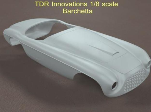 1/8 Barchetta in White Natural Versatile Plastic