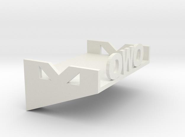 Ledge in White Strong & Flexible: Medium