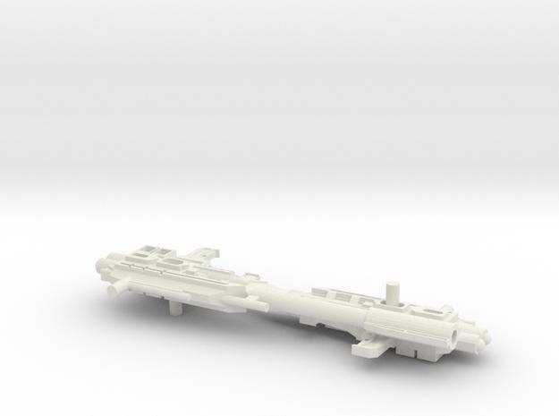 Titans Return Power Master Prime gun in White Natural Versatile Plastic