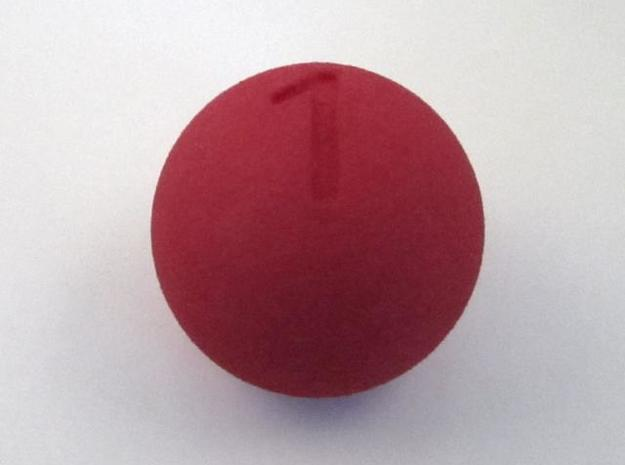 D1 Sphere Dice - one-sided dice